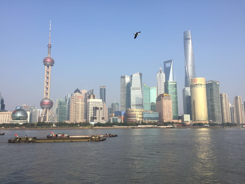 五一,上海第一天