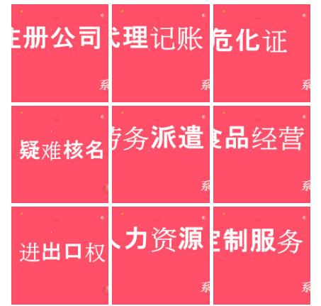 上海地区专业代理服务公司